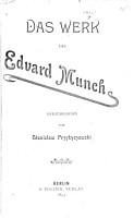 Das Werk des Edvard Munch PDF