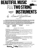 Beautiful music for string instruments PDF