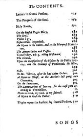 Poems on Several Occasions. Written by the Reverend John Donne, D.D., Late Dean of St. Paul's. With Elegies on the Author's Death. To this Edition is Added, Some Account of the Life of the Author