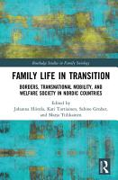 Family Life in Transition PDF