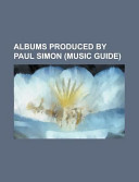 Albums Produced by Paul Simon PDF