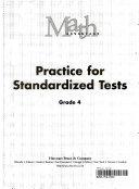 Math Advantage  Grade 4 Practice Standardized Test PDF