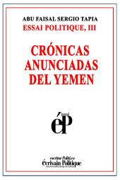 Crónicas anunciadas del Yemen
