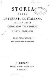 Storia della letteratura italiana: Dall'anno MDC fino all'anno MDCC