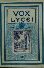 Vox Lycei 1930-1931