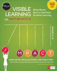 Visible Learning For Mathematics Grades K 12 Book PDF