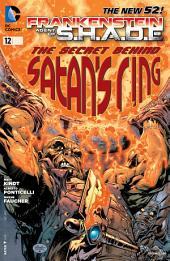 Frankenstein, Agent of SHADE (2012-) #12