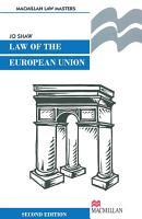 The Law of the European Union PDF