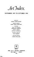 Art Index PDF