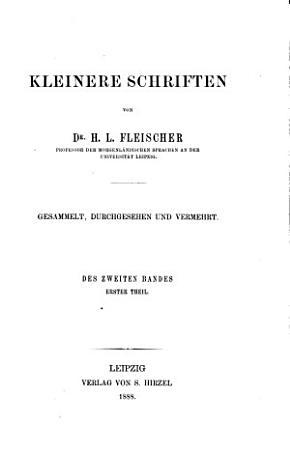 Kleinere Schriften PDF
