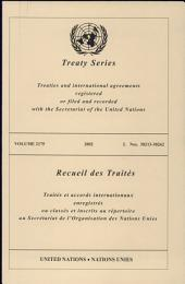 Treaty Series 2175 I:38213-38262