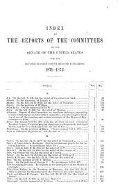 Congressional Series of United States Public Documents: Volume 1498
