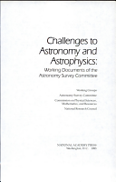 Challenges to Astronomy and Astrophysics PDF