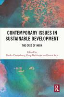 Contemporary Issues in Sustainable Development PDF