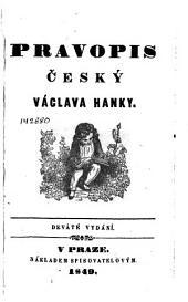 Pravopis český