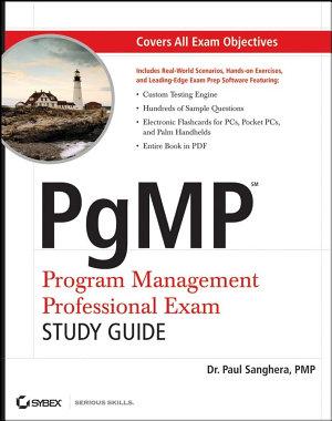 PgMP  Program Management Professional Exam Study Guide
