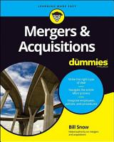 Mergers   Acquisitions For Dummies PDF