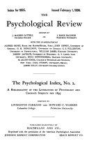 The Psychological Index PDF
