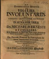 Dissertatio Medica De Vigiliis Involuntariis