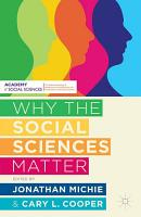 Why the Social Sciences Matter PDF