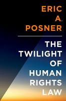The Twilight of Human Rights Law PDF