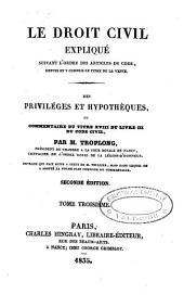 Le droit civil expliqué: suivant l'ordre des articles du code : depuis et y compris le titre de la vente : ouvrage qui fait suite à celui de M. Toullier : mais dans lequel on a adopté la forme plus commode du commentaire. De l'échange et du louage : commentaire des titres VII et VIII du livre III du Code civil, Volume11