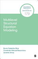 Multilevel Structural Equation Modeling