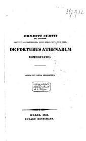 De portubus Athenarum commentatio