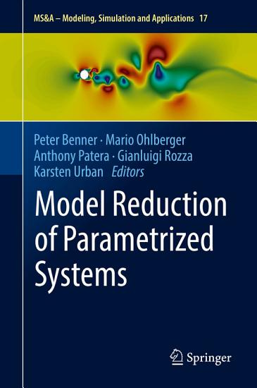 Model Reduction of Parametrized Systems PDF