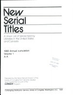 New Serial Titles