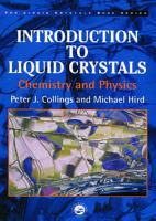 Introduction to Liquid Crystals PDF