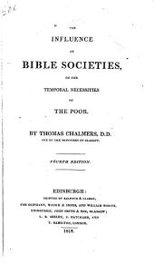 The Influence of Bible Societies on the Temporal Necessities of the Poor