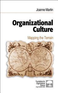 Organizational Culture Book