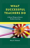 What Successful Teachers Do PDF