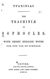 Trachiniæ: With short English notes