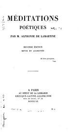 Méditations poétiques: Volume1
