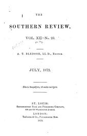 The Southern Review: Volumes 11-12