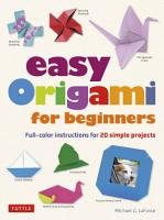 Easy Origami for Beginners PDF