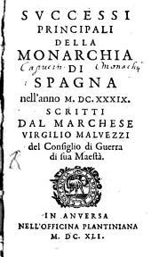 Successi principali della Monarchia di Spagna n. a. 1639