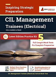 CIL Management Trainees  Electrical    5 Full length Mock Tests for Complete Preparation PDF