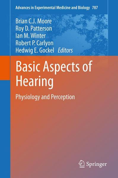 Basic Aspects of Hearing PDF