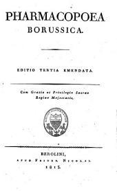 Pharmacopoea Borussica