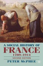 A Social History of France 1780 1914 PDF