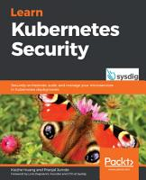Learn Kubernetes Security PDF