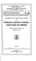 Bulletin of the United States Bureau of Labor Statistics  no  406  1926 PDF