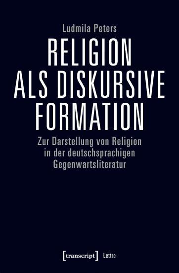 Religion als diskursive Formation PDF