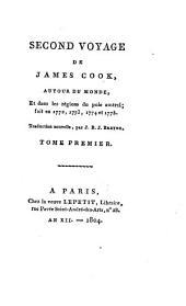 Premier: second et troisième voyage s de James Cook, autour du monde, Volume6