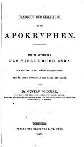Handbuch der Einleitung in die Apokryphen: Bände 1-2