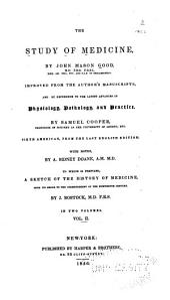 The Study of Medicine: Volume 2