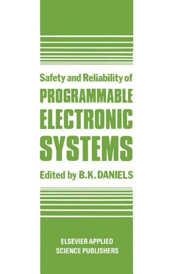 Safety and Reliability of Programmable Electronic Systems PDF